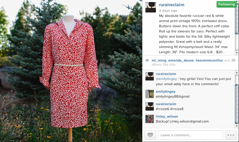 make money from instagram by selling clothes