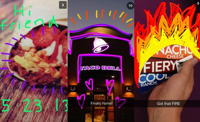 Taco Bell Running A Snapchat Promotion